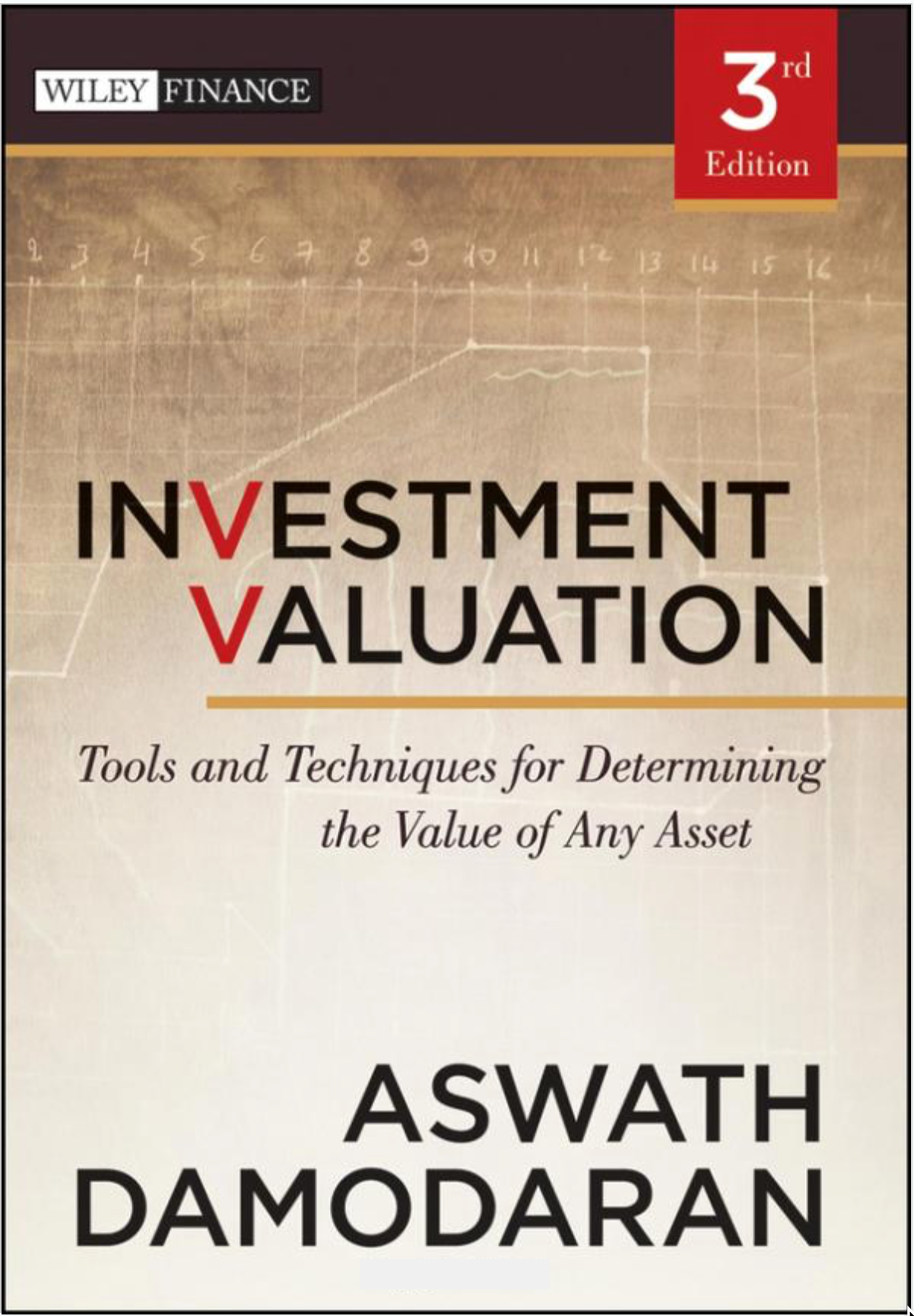 Investment Valuation: Tools And Techniques For Determining The Value Of Any Asset (3rd Edition) – Aswath Damodaran